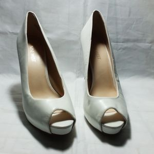 NINE WEST HEELS WOMAN SHOES SIZE 8M